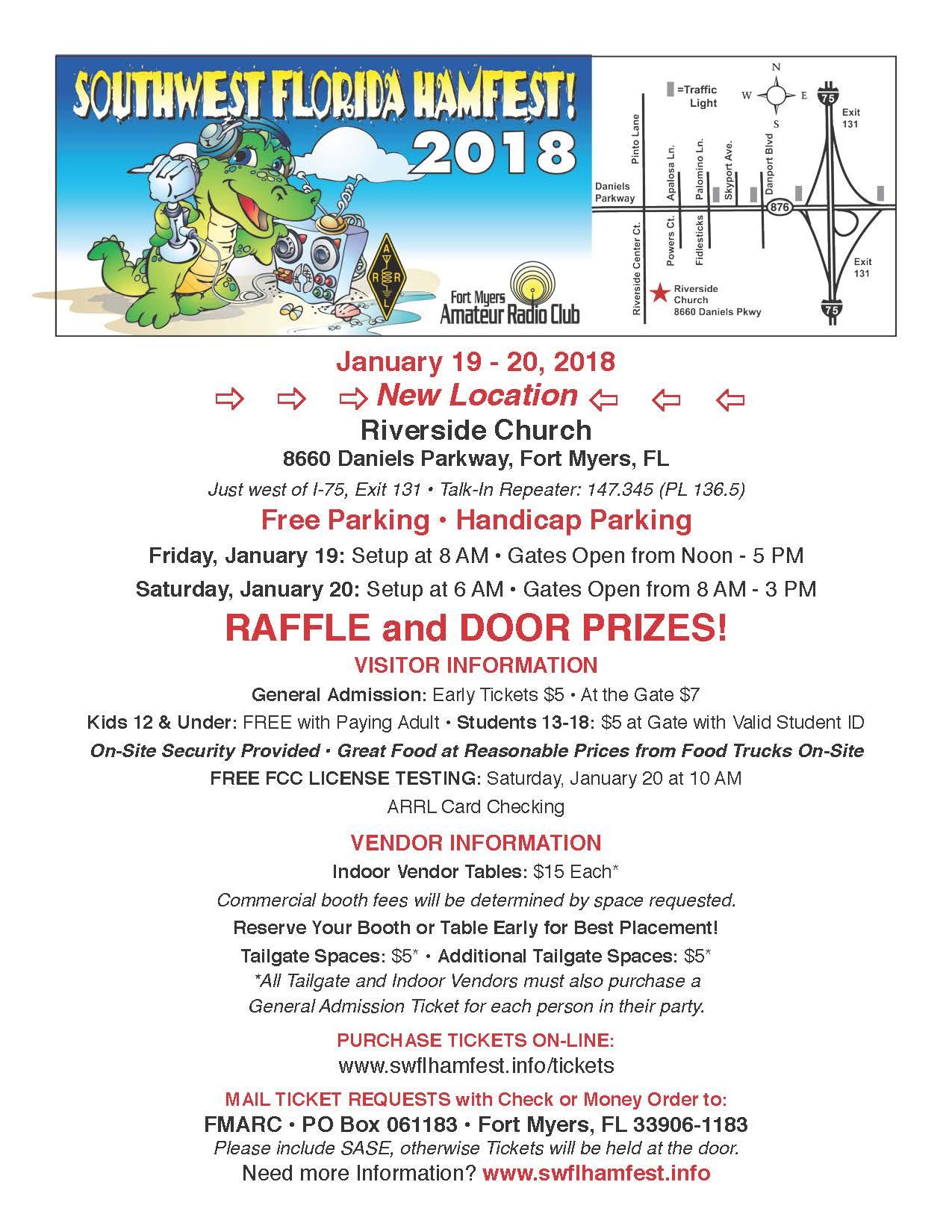Hamfest Flyer 2018